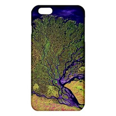 Lena River Delta A Photo Of A Colorful River Delta Taken From A Satellite iPhone 6 Plus/6S Plus TPU Case