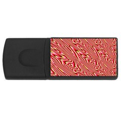 Abstract Neutral Pattern USB Flash Drive Rectangular (4 GB)