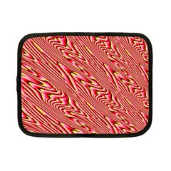 Abstract Neutral Pattern Netbook Case (Small)