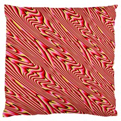 Abstract Neutral Pattern Large Cushion Case (two Sides)