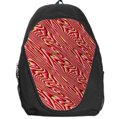 Abstract Neutral Pattern Backpack Bag
