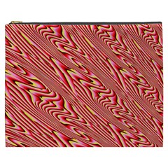 Abstract Neutral Pattern Cosmetic Bag (XXXL)