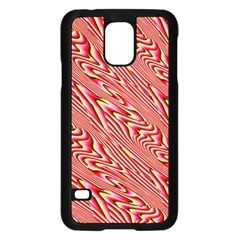 Abstract Neutral Pattern Samsung Galaxy S5 Case (Black)