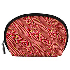 Abstract Neutral Pattern Accessory Pouches (large)
