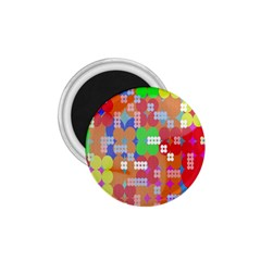 Abstract Polka Dot Pattern Digitally Created Abstract Background Pattern With An Urban Feel 1 75  Magnets