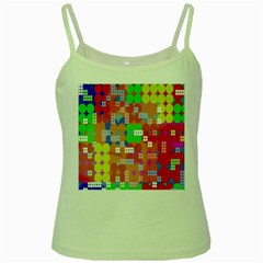 Abstract Polka Dot Pattern Digitally Created Abstract Background Pattern With An Urban Feel Green Spaghetti Tank
