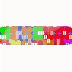 Abstract Polka Dot Pattern Digitally Created Abstract Background Pattern With An Urban Feel Large Bar Mats