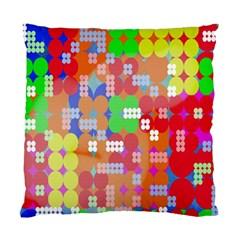 Abstract Polka Dot Pattern Digitally Created Abstract Background Pattern With An Urban Feel Standard Cushion Case (one Side)