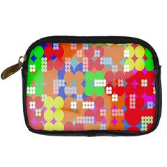 Abstract Polka Dot Pattern Digitally Created Abstract Background Pattern With An Urban Feel Digital Camera Cases