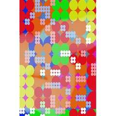 Abstract Polka Dot Pattern Digitally Created Abstract Background Pattern With An Urban Feel 5.5  x 8.5  Notebooks