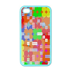 Abstract Polka Dot Pattern Digitally Created Abstract Background Pattern With An Urban Feel Apple Iphone 4 Case (color)
