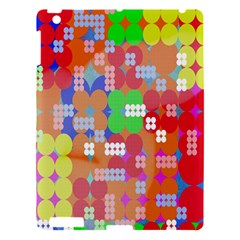 Abstract Polka Dot Pattern Digitally Created Abstract Background Pattern With An Urban Feel Apple iPad 3/4 Hardshell Case