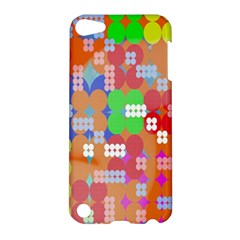 Abstract Polka Dot Pattern Digitally Created Abstract Background Pattern With An Urban Feel Apple iPod Touch 5 Hardshell Case
