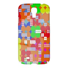 Abstract Polka Dot Pattern Digitally Created Abstract Background Pattern With An Urban Feel Samsung Galaxy S4 I9500/I9505 Hardshell Case