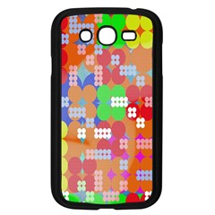 Abstract Polka Dot Pattern Digitally Created Abstract Background Pattern With An Urban Feel Samsung Galaxy Grand DUOS I9082 Case (Black)