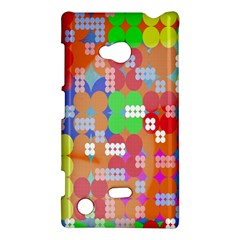 Abstract Polka Dot Pattern Digitally Created Abstract Background Pattern With An Urban Feel Nokia Lumia 720