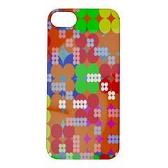 Abstract Polka Dot Pattern Digitally Created Abstract Background Pattern With An Urban Feel Apple Iphone 5s/ Se Hardshell Case