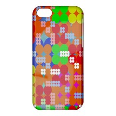 Abstract Polka Dot Pattern Digitally Created Abstract Background Pattern With An Urban Feel Apple iPhone 5C Hardshell Case