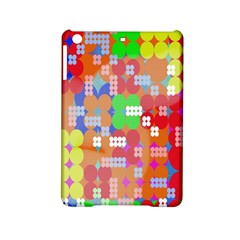 Abstract Polka Dot Pattern Digitally Created Abstract Background Pattern With An Urban Feel iPad Mini 2 Hardshell Cases