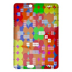 Abstract Polka Dot Pattern Digitally Created Abstract Background Pattern With An Urban Feel Amazon Kindle Fire Hd (2013) Hardshell Case