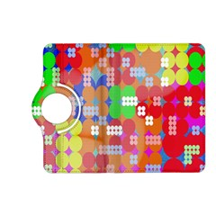 Abstract Polka Dot Pattern Digitally Created Abstract Background Pattern With An Urban Feel Kindle Fire HD (2013) Flip 360 Case