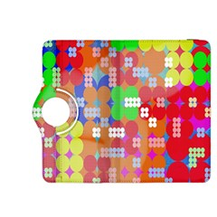 Abstract Polka Dot Pattern Digitally Created Abstract Background Pattern With An Urban Feel Kindle Fire Hdx 8 9  Flip 360 Case