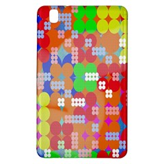 Abstract Polka Dot Pattern Digitally Created Abstract Background Pattern With An Urban Feel Samsung Galaxy Tab Pro 8 4 Hardshell Case