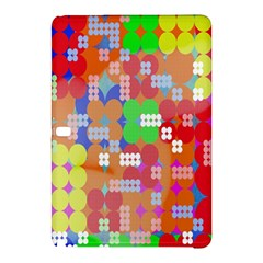 Abstract Polka Dot Pattern Digitally Created Abstract Background Pattern With An Urban Feel Samsung Galaxy Tab Pro 12.2 Hardshell Case