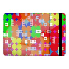 Abstract Polka Dot Pattern Digitally Created Abstract Background Pattern With An Urban Feel Samsung Galaxy Tab Pro 10.1  Flip Case