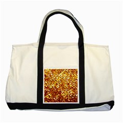 Yellow Abstract Background Two Tone Tote Bag