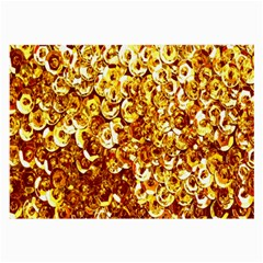 Yellow Abstract Background Large Glasses Cloth