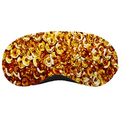Yellow Abstract Background Sleeping Masks