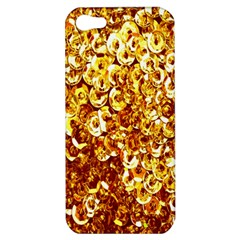 Yellow Abstract Background Apple Iphone 5 Hardshell Case