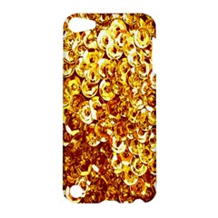 Yellow Abstract Background Apple iPod Touch 5 Hardshell Case