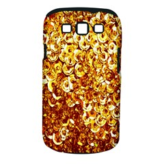 Yellow Abstract Background Samsung Galaxy S III Classic Hardshell Case (PC+Silicone)