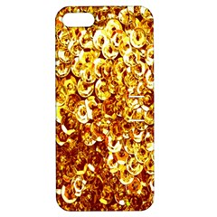 Yellow Abstract Background Apple iPhone 5 Hardshell Case with Stand