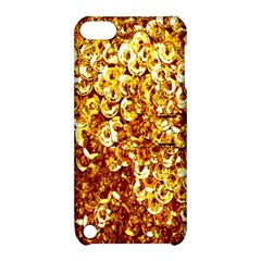 Yellow Abstract Background Apple Ipod Touch 5 Hardshell Case With Stand