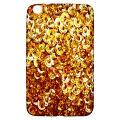 Yellow Abstract Background Samsung Galaxy Tab 3 (8 ) T3100 Hardshell Case