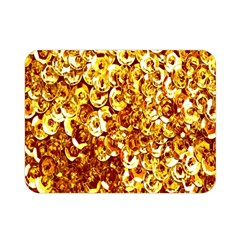 Yellow Abstract Background Double Sided Flano Blanket (mini)