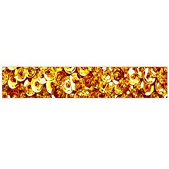 Yellow Abstract Background Flano Scarf (large)