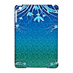 Floral 2d Illustration Background Apple iPad Mini Hardshell Case (Compatible with Smart Cover)