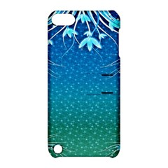 Floral 2d Illustration Background Apple iPod Touch 5 Hardshell Case with Stand