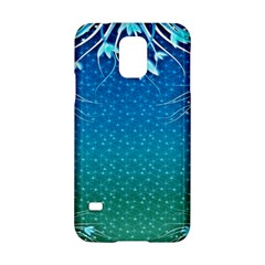 Floral 2d Illustration Background Samsung Galaxy S5 Hardshell Case