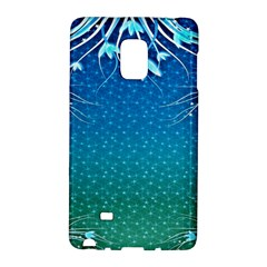 Floral 2d Illustration Background Galaxy Note Edge