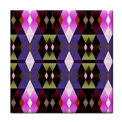 Geometric Abstract Background Art Tile Coasters