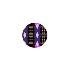 Geometric Abstract Background Art 1  Mini Buttons