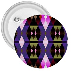 Geometric Abstract Background Art 3  Buttons