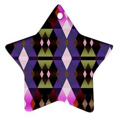 Geometric Abstract Background Art Ornament (Star)