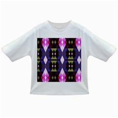 Geometric Abstract Background Art Infant/Toddler T-Shirts