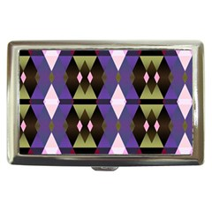 Geometric Abstract Background Art Cigarette Money Cases